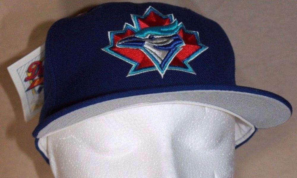 Vintage Toronto Blue Jays Fitted Hat 90 s New Era Pro Model NWT MLB Size 6  7 8  NewEra  TorontoBlueJays 0d31fe33c7a1