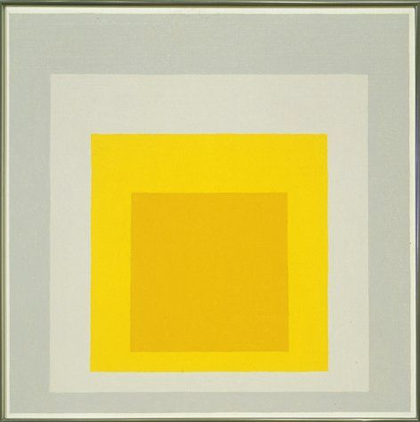 """Josef Albers, """"Study for Homage to the Square: In May"""" (1960) 