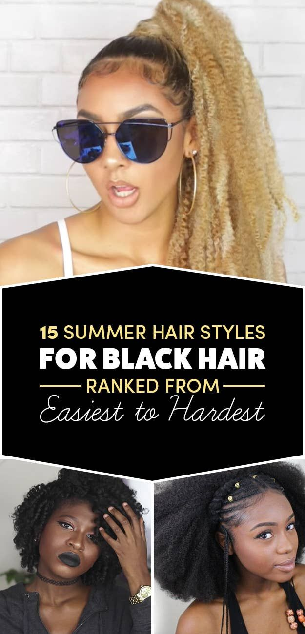 15 Black Girl Styles Thatll Have Your Hair Laid All Summer Long