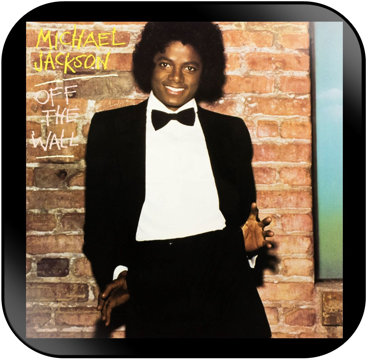 Michael Jackson Off The Wall Album Cover Sticker With Images