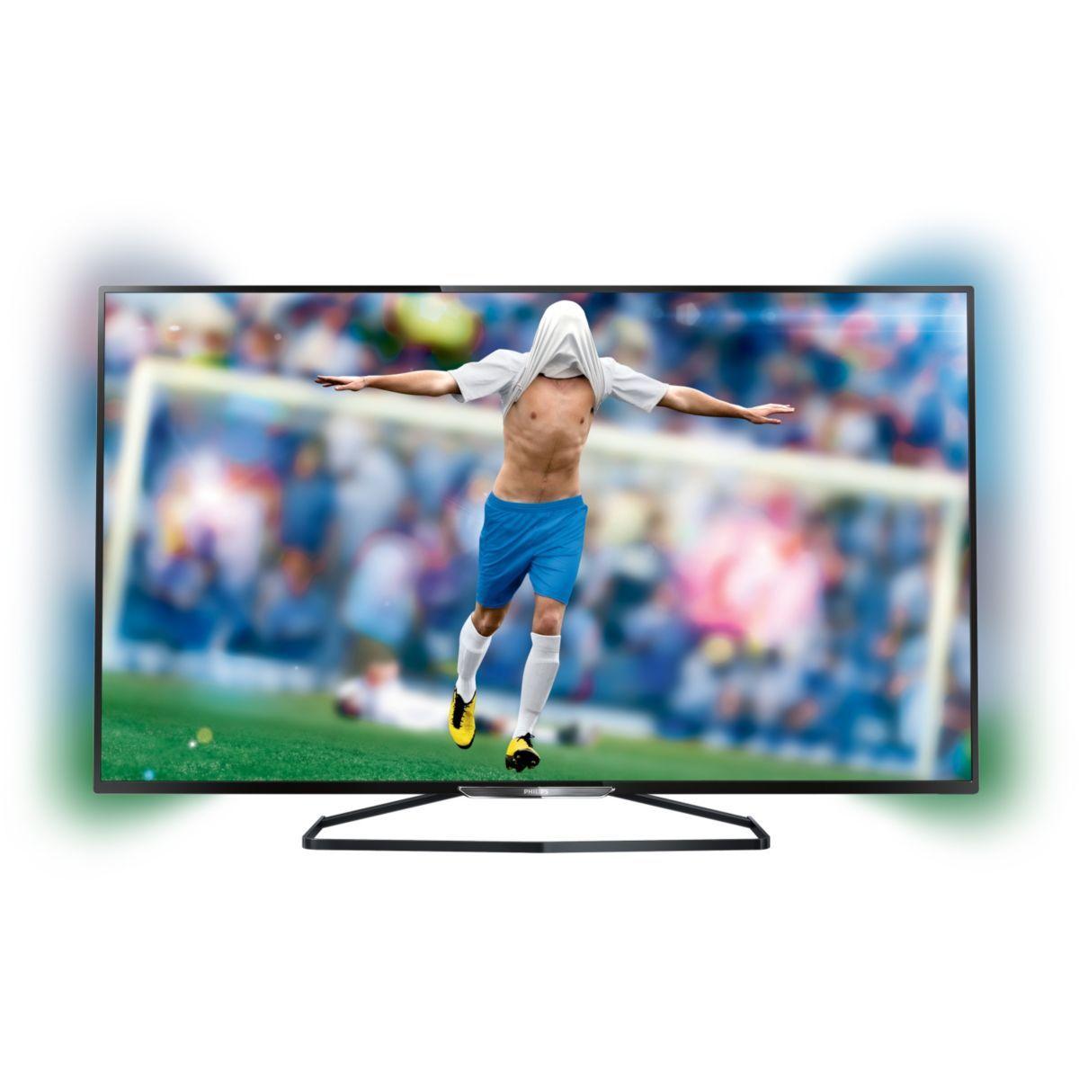 tv philips 55pfk6589 ex 3d 400 hz smart pas cher prix promo