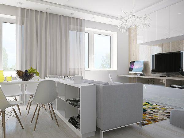 Ure enje stana od 40 kvadrata ostalo pinterest for Apartment design 40m2