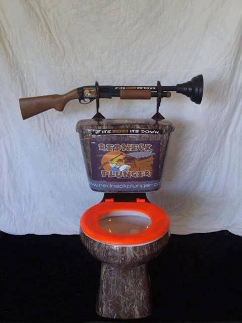 Redneck Plunger You Might Be A Redneck Pinterest