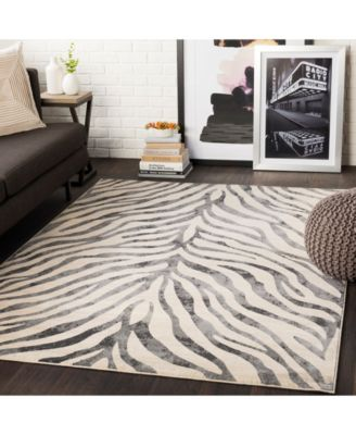 Surya City Cit 2300 Taupe 3 11 X 5 7 Area Rug Area Rugs Home