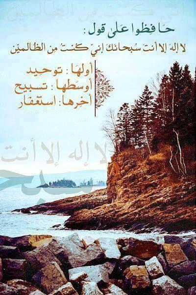 لا اله الا انت سبحانك اني كنت من الظالمين Islam Beliefs Quran Quotes Islamic Quotes Quran