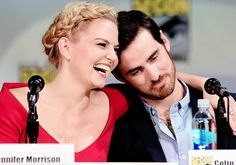 jennifer morrison and colin o'donoghue Comic-Con | Jennifer Morrison and Colin O'Donoghue attend ABC's 'Once Upon A ...