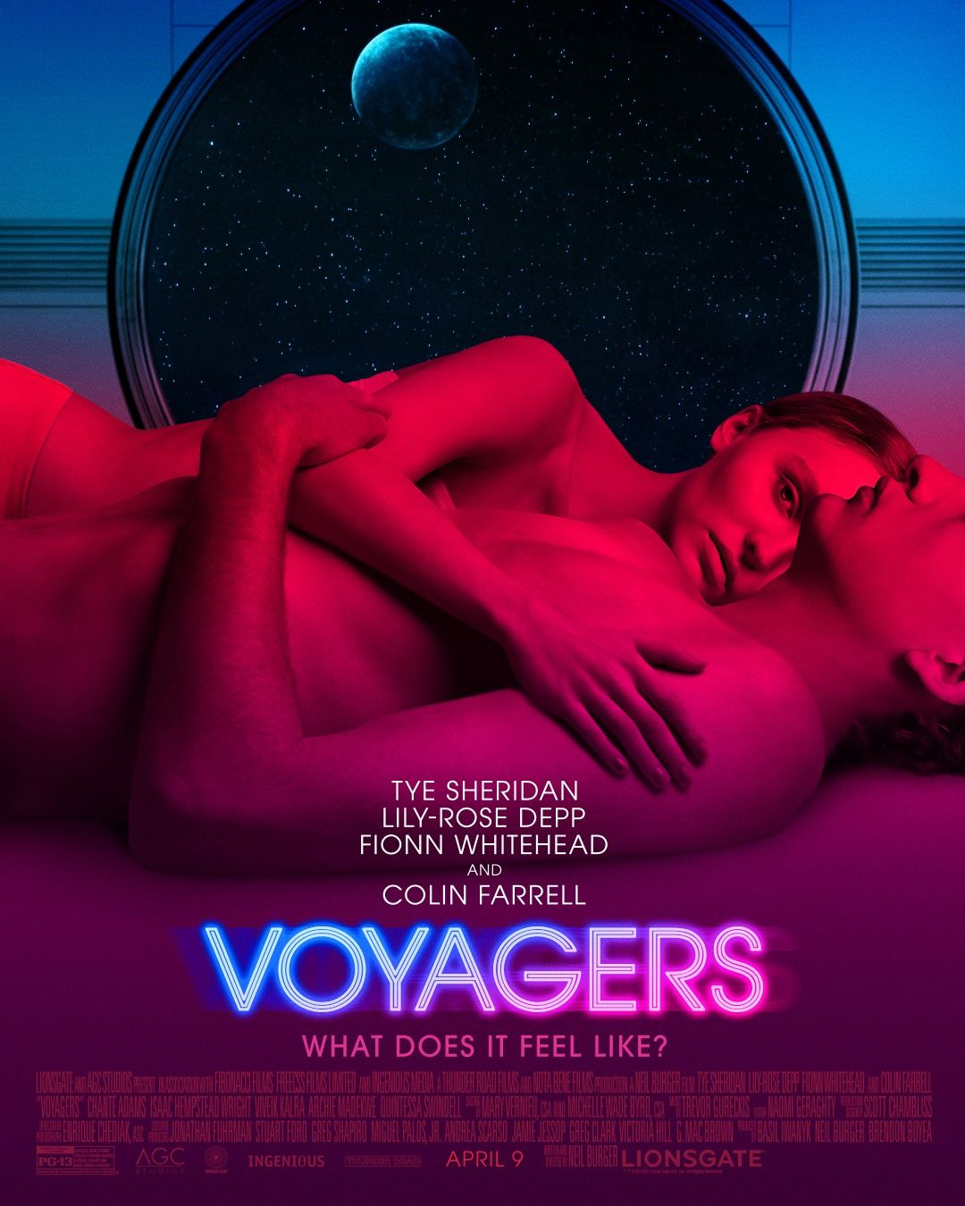 Voyagers Movie 2021 Tye Sheridan Lily Rose Depp In 2021 Voyage Lily Rose Depp The Illusionist