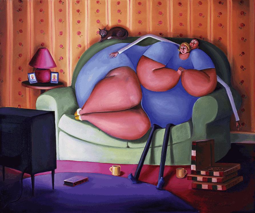 Прикольные картинки о толстяках, для