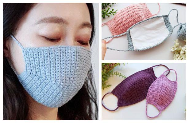 Photo of Face Mask Free Crochet Patterns & Paid + Video – DIY Magazine