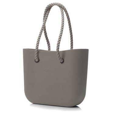 b754369d2 Amazon.com: Obag Beach Bag - Shopping Tote Purse in Rock with Rope Handles:  Sports & Outdoors