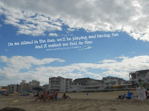island in the sun. | Hearing colors smelling music | Music ...