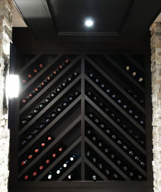 Check these beautiful wine cellars at //glamshelf.com and other creative tricks to store your wine with style. & 63 Creative Ways to Store Your Wine With Style | Pinterest | Wine ...