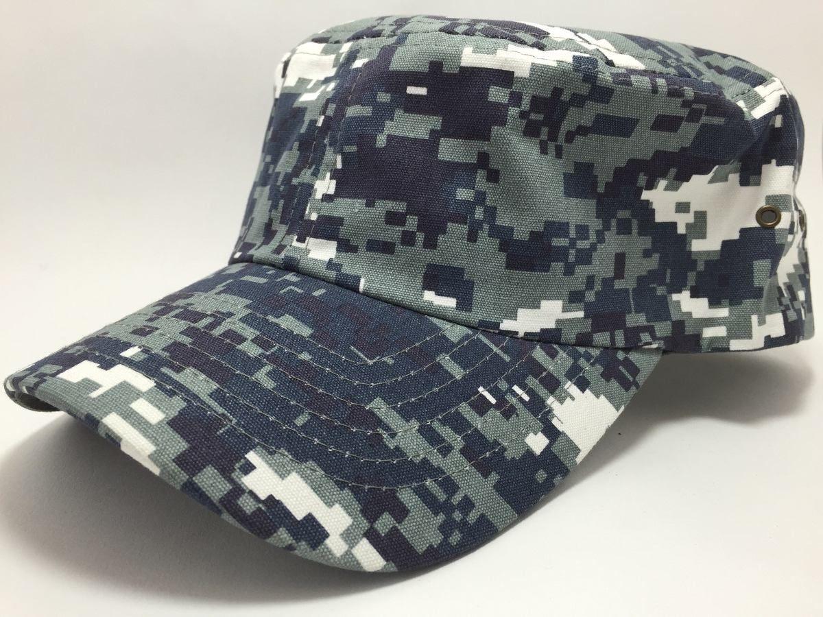 (6) Gorra Táctica Marina Azul Pixelado Fuerzas Especiales -   99.00 en  MercadoLibre f0b684dc1e6