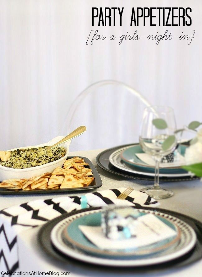 Easy Party Appetizers for Girls-Night-In | Easy party appetizers ...