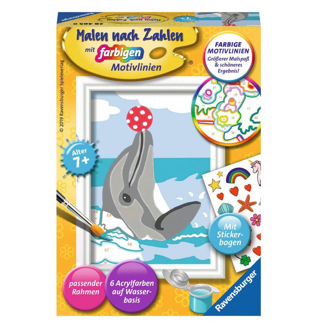 Delfin In 2020 Malen Nach Zahlen Delfin Malen Malen