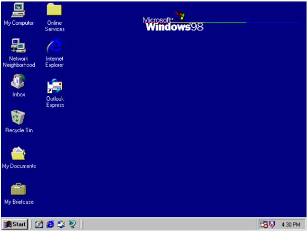 Way back when: Windows 98