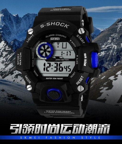 Đồng hồ SKMEI S-SHOCK II thể thao chống nước SK028 229.000VNĐ