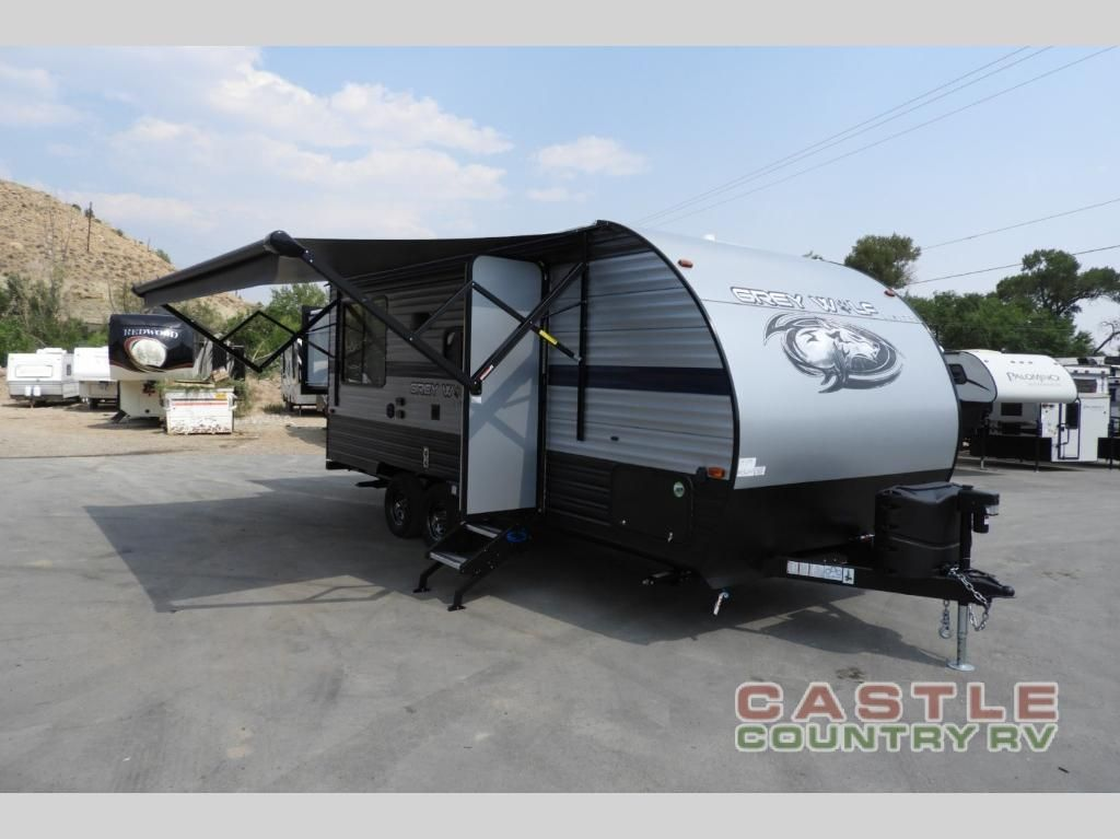 New 2019 Forest River Rv Cherokee Grey Wolf 19sm Travel Trailer At