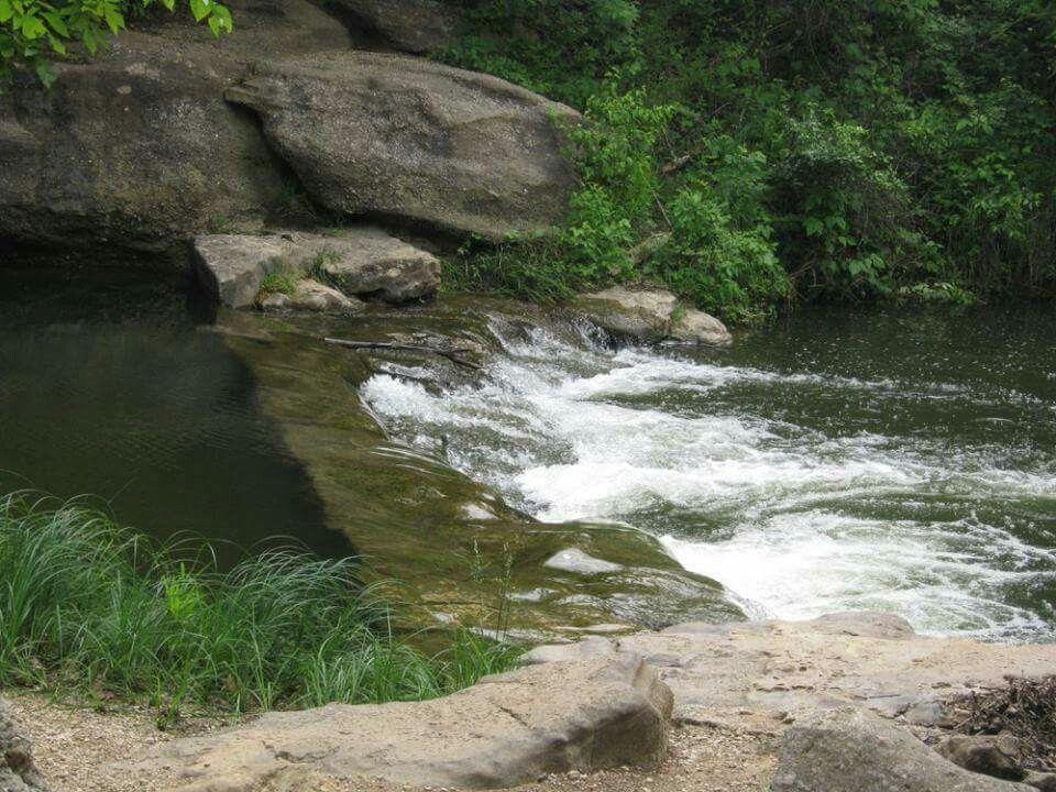 Garfield Falls Chickasaw National Park Near Sulphur Oklahoma National Parks Recreation Area Turner Falls