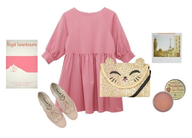 """Meow"" by samarayared ❤ liked on Polyvore featuring Rosebud Perfume Co. and Topshop"