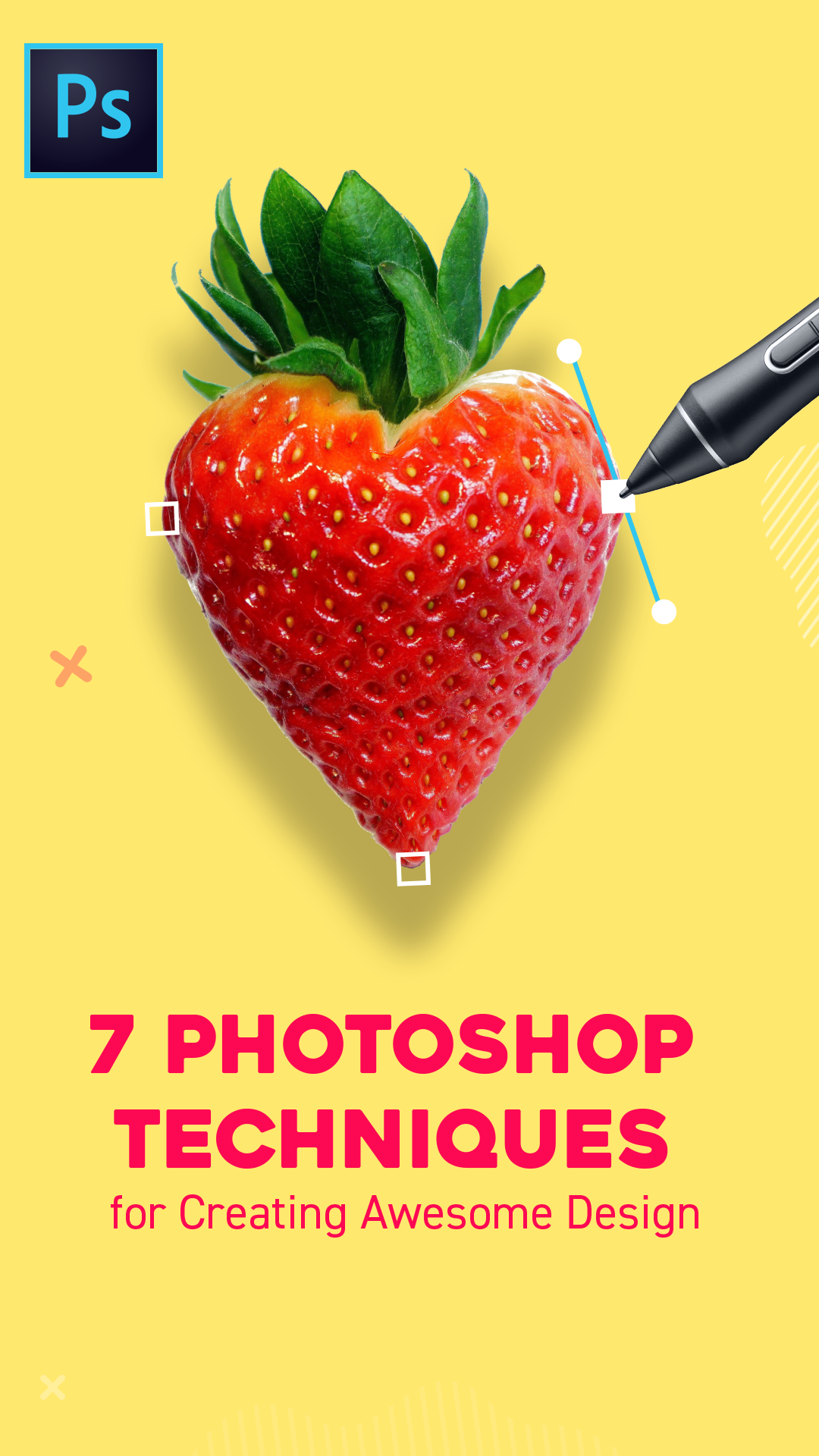 7 Photoshop Techniques for Creating Awesome Design #graphicdesign