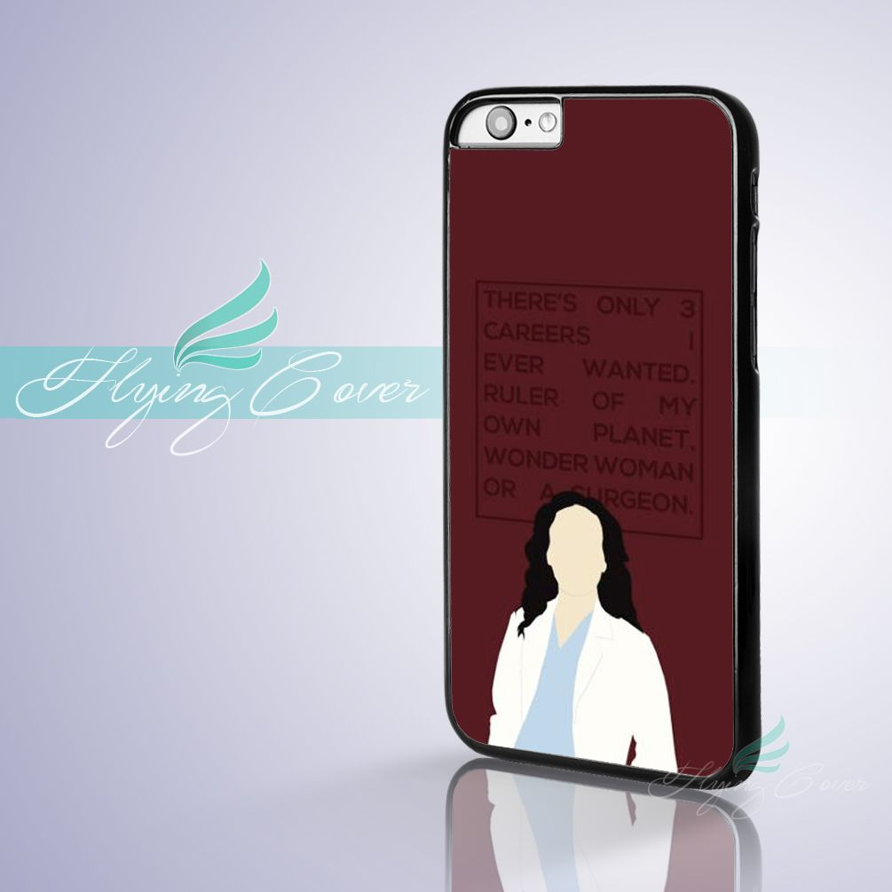 Coque Greys Anatomy Cristina Yang Phone Cases for iPhone 7 6S 6 5S ...