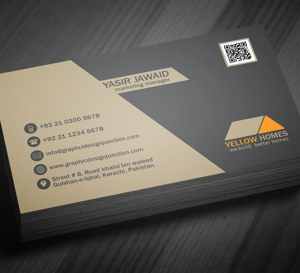 Real Estate Business Card Template 3 Nvjegykrtya Tletek