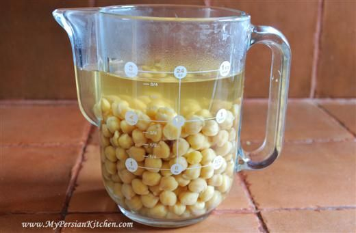 How to quick-soak chickpeas (only takes one hour versus ...