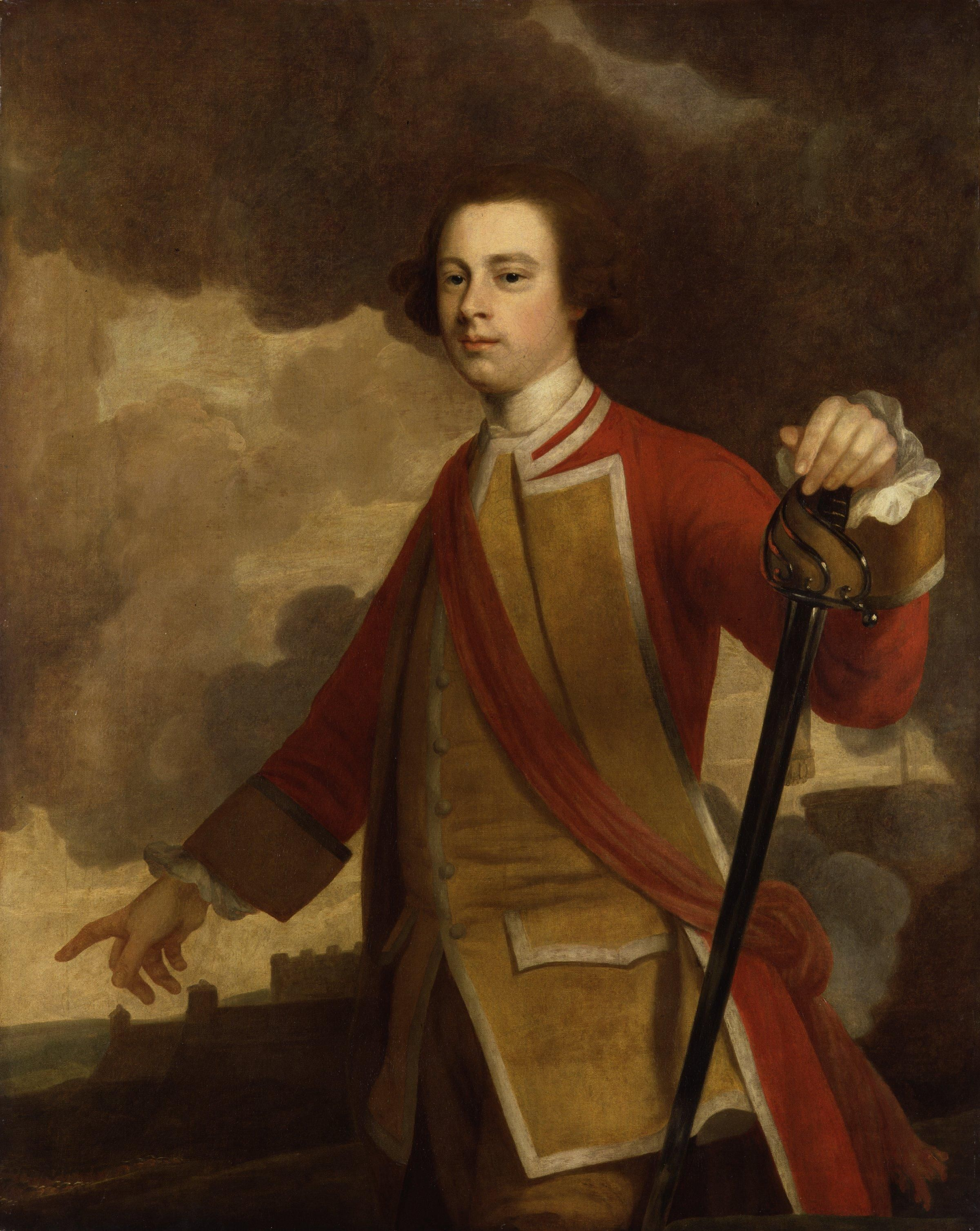 Major General James Wolfe was a British army officer, known for ...