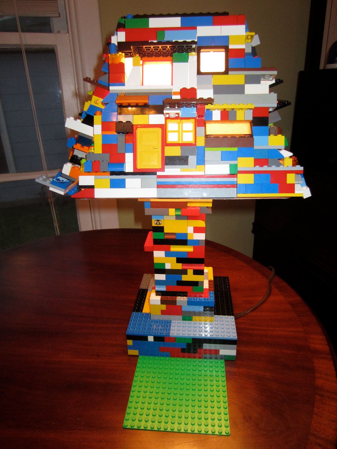 Lego lamp google search lego creations pinterest lego lamp lego lamp google search aloadofball Choice Image