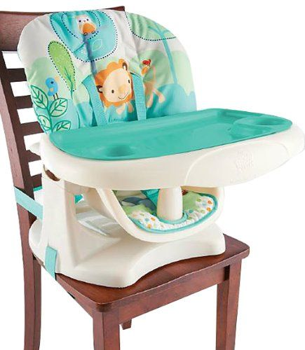 buy cheap bright starts playful pals chair top high chair with reviews safest high chairs. Black Bedroom Furniture Sets. Home Design Ideas