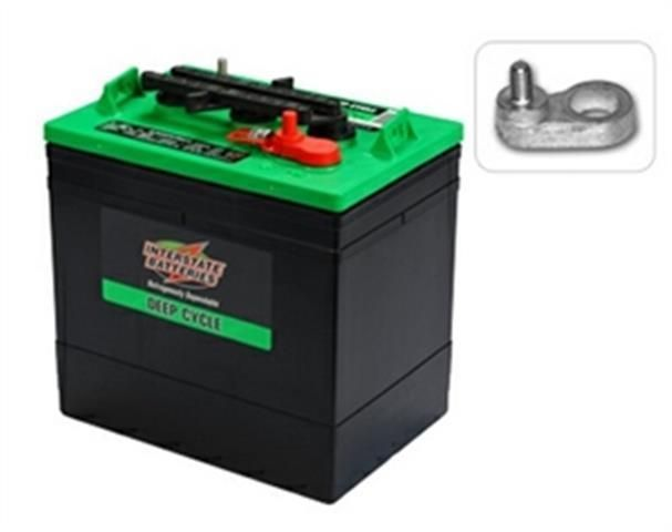 Interstate Deep Cycle Marine Battery >> New Interstate 6v 6 Volt Golf Cart Battery Battery Rv Marine Solar