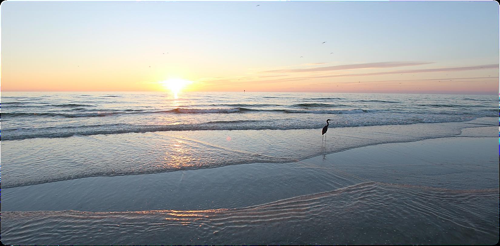 Enjoy a warm sunset this winter or spring on Manasota Key ...