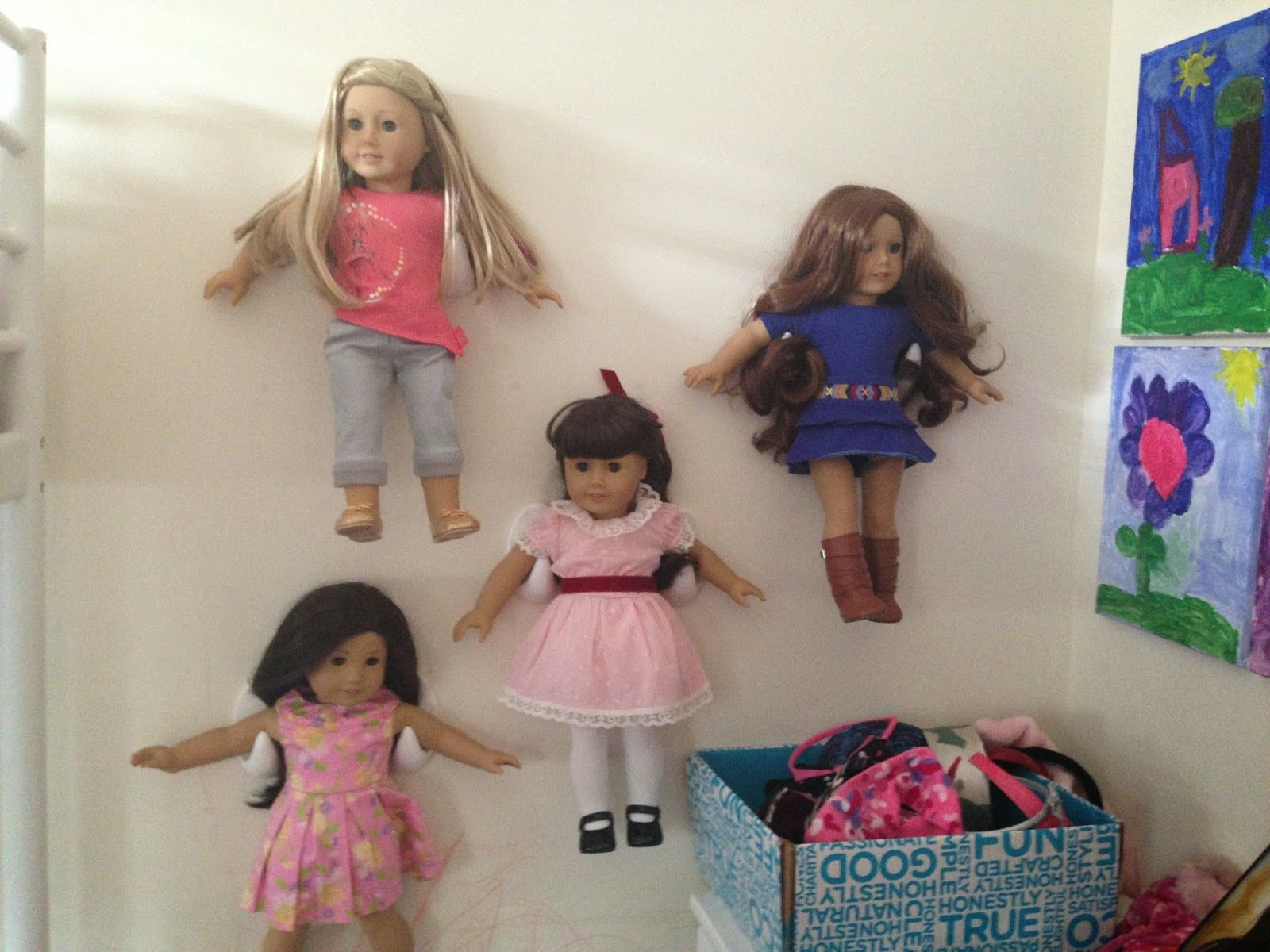 Captivating American Girl Doll Storage Solution From The Dollar Store. My Only Problem  Is What Dollar