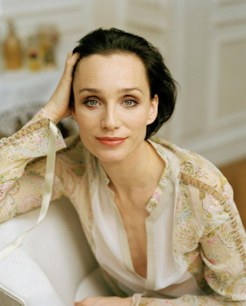Kristin Scott Thomas  'Life is too short to live on low-fat everything' :-)  'Seeing The English Patient is wonderfully draining, but imagine acting in it for six months.'