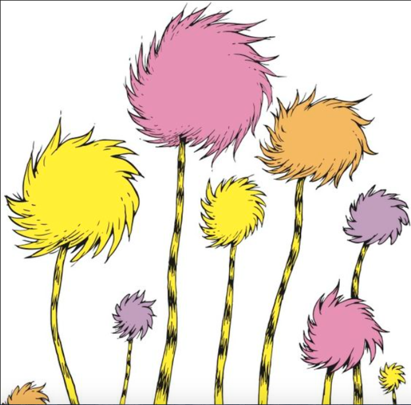 Truffula Tree Forest From The Lorax Truffula Trees The Lorax Dr Seuss Art