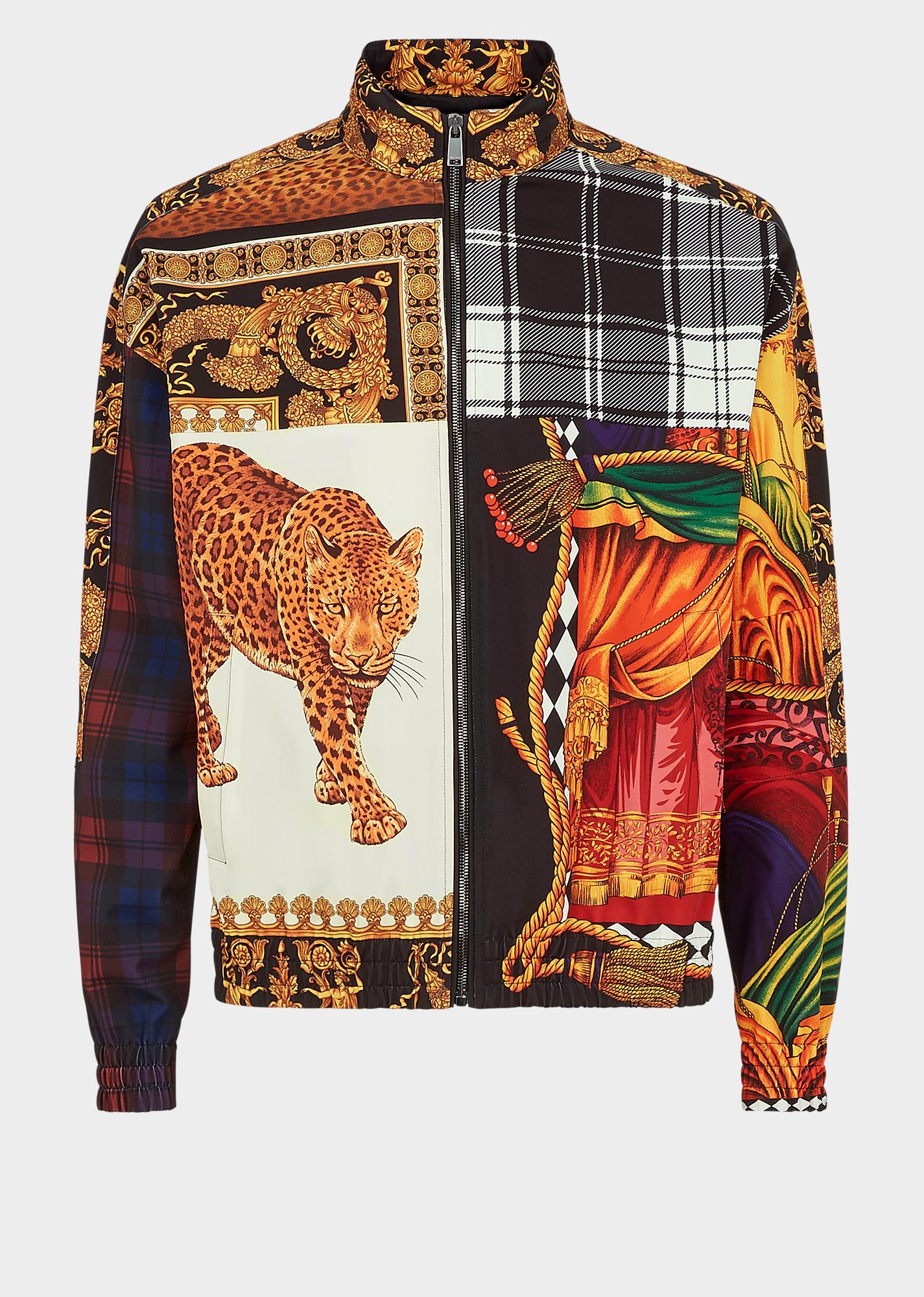 VERSACE Signature-Sipario Print Jacket.  versace  cloth  4d2948c9ba274
