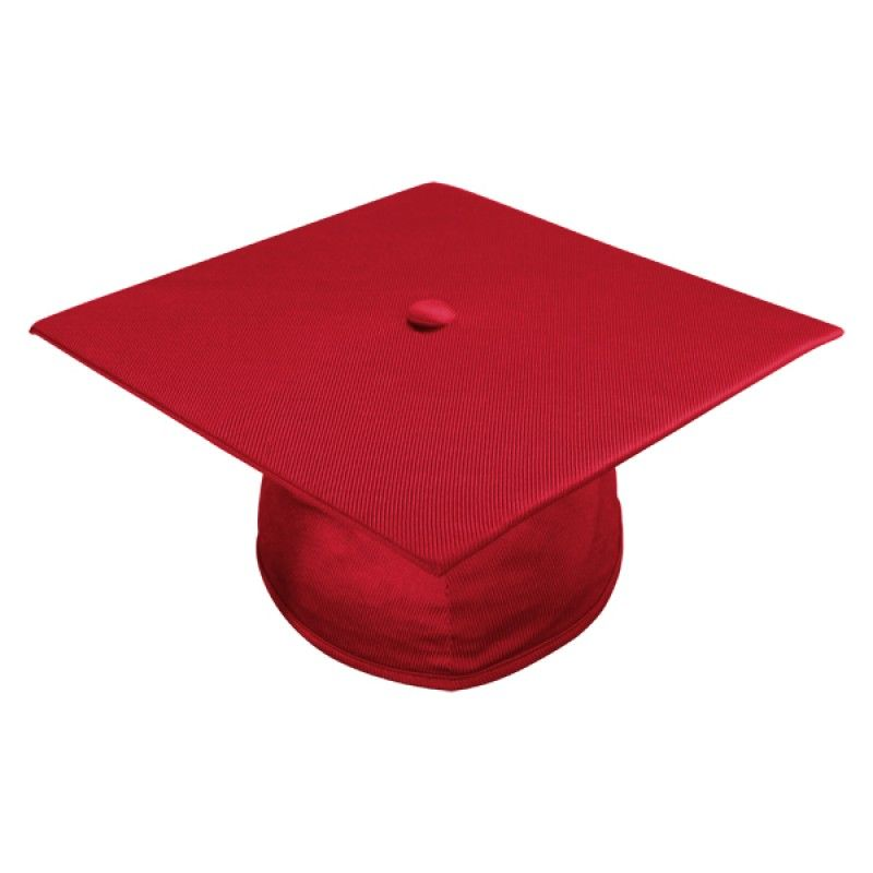 Shiny Red High School Cap, Gown & Tassel   High school, Tassels and Cap