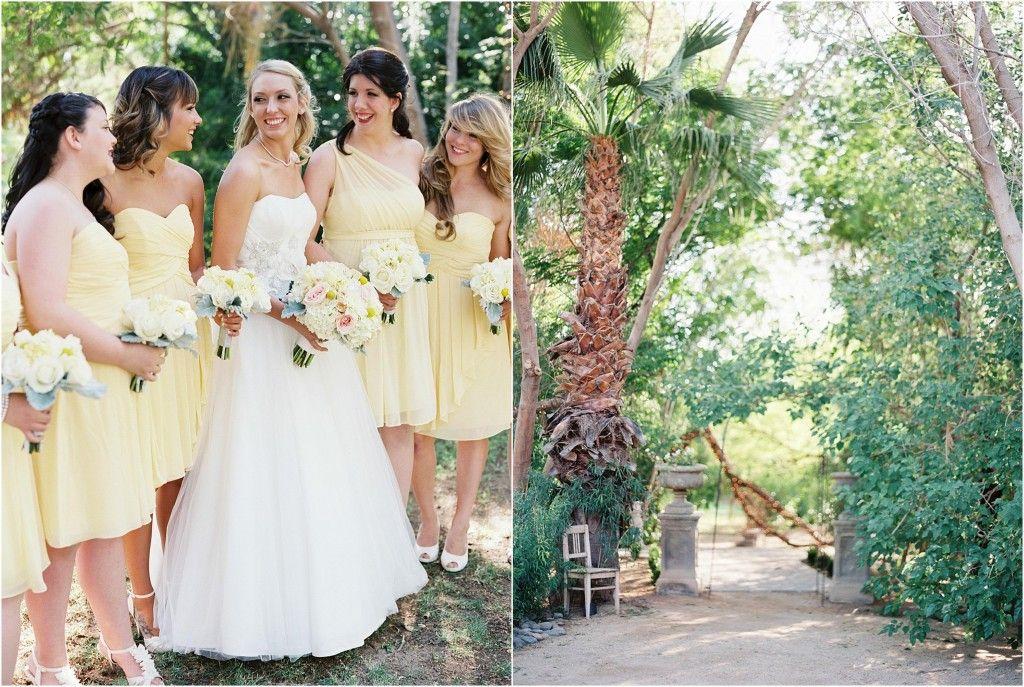 yellow-bridesmaid-dresses