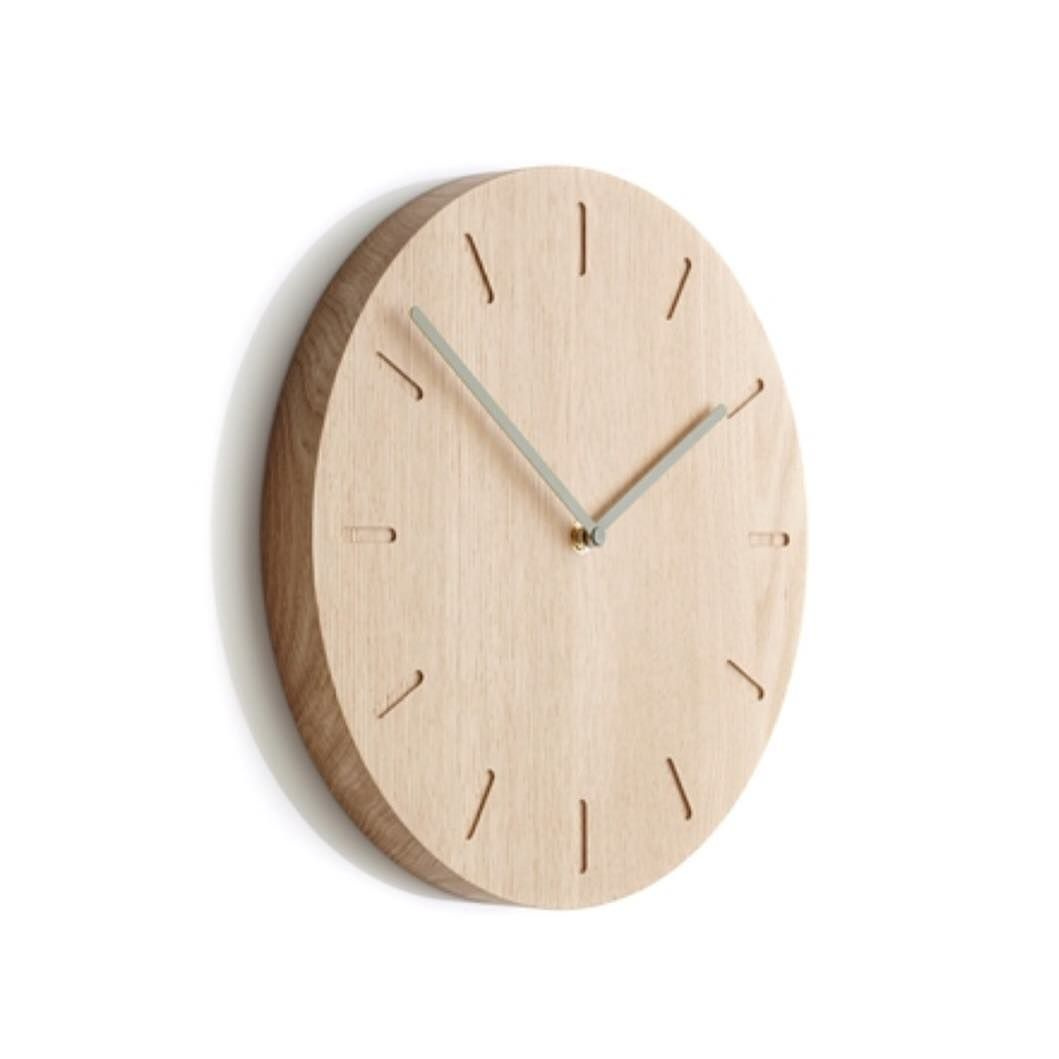 New The 10 Best Home Decor With Pictures Our Popular Solid Oak Watch Out Where Would You Hang Your Wall Cloc Wall Clock Oak Clock Wall Decor Wall Clock