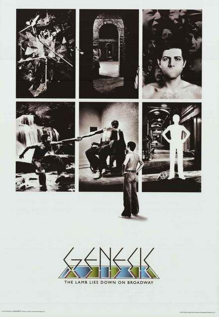 Genesis Lamb Lies Down on Broadway Album Cover Music Poster 24x36
