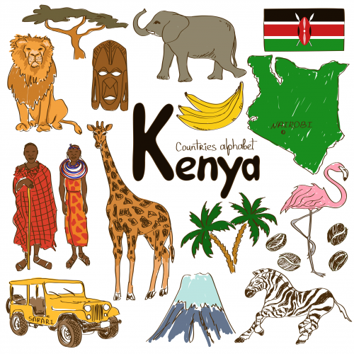 'K' is for Kenya with this alphabetical country worksheet from KidsPressMagazine! #geography #Kenya #AfricanCountries