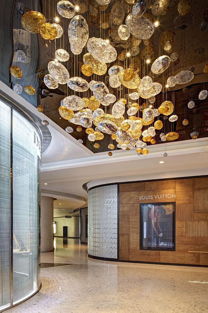 Shanghai Ifc Mall Light Design Experience Lasvit Ifcmall