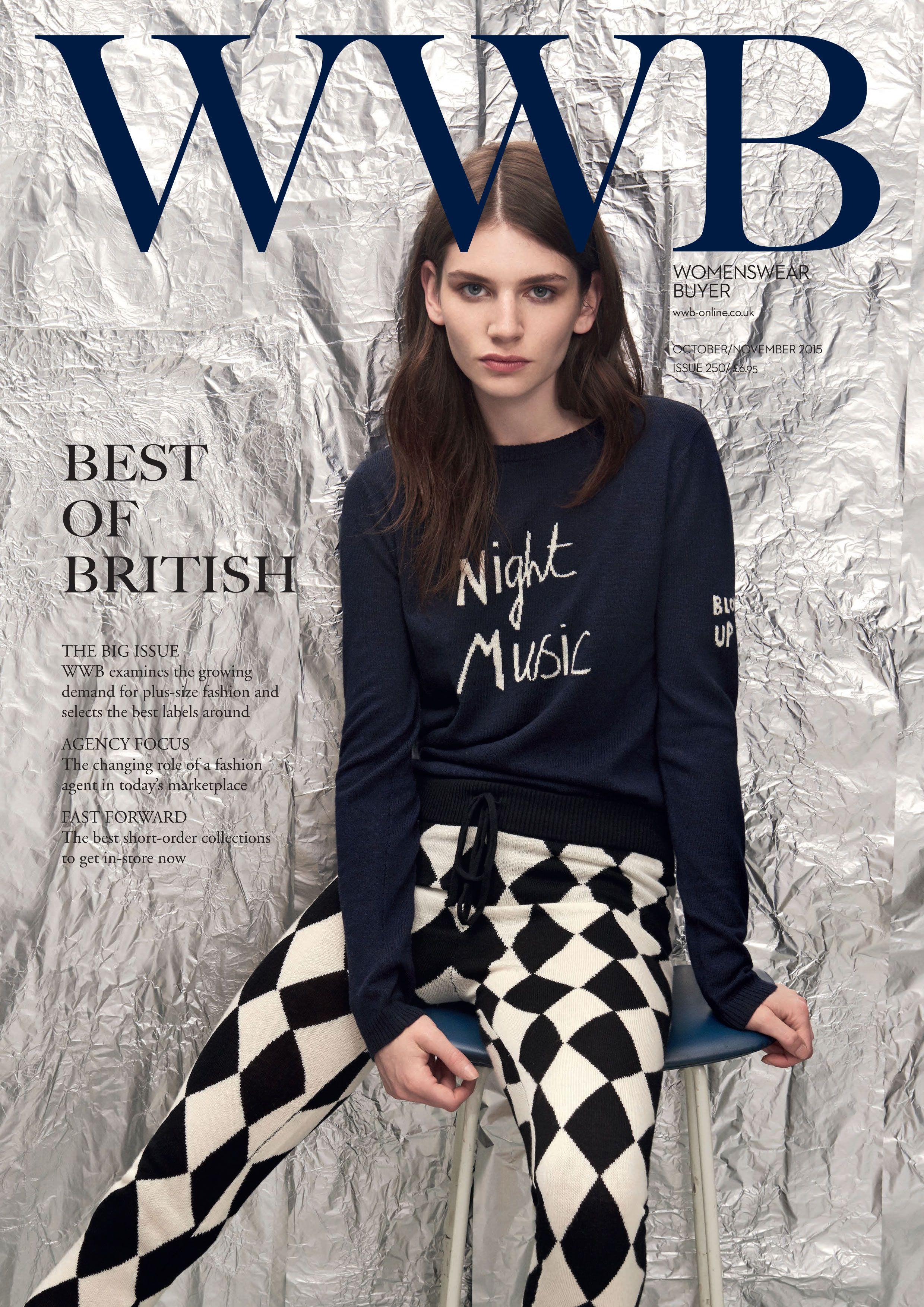 Pin by WWB Magazine on COVERS East fashion, Uk fashion