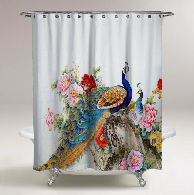 "Indian Folk Boho Dream Catcher 71X71/"" Shower Curtain Bathroom Polyester Fabric"