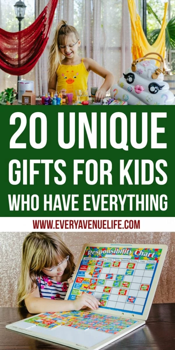 20 Unique Gifts for Kids Who Have Everything | Unique ...