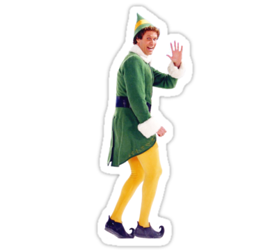 Buddy The Elf Stickers By Tbtamp Redbubble Stickers Buddy The Elf Print Stickers