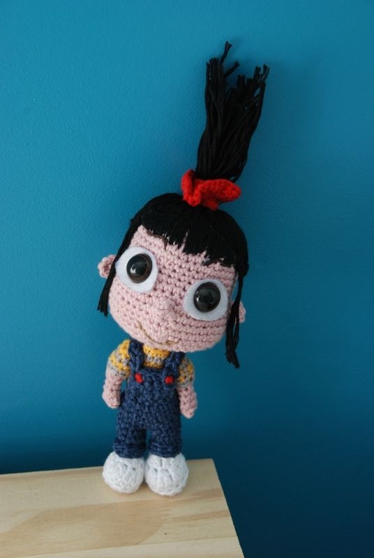 Agnes (despicable me) free crochet amigurumi pattern - aHooka - Geek ...