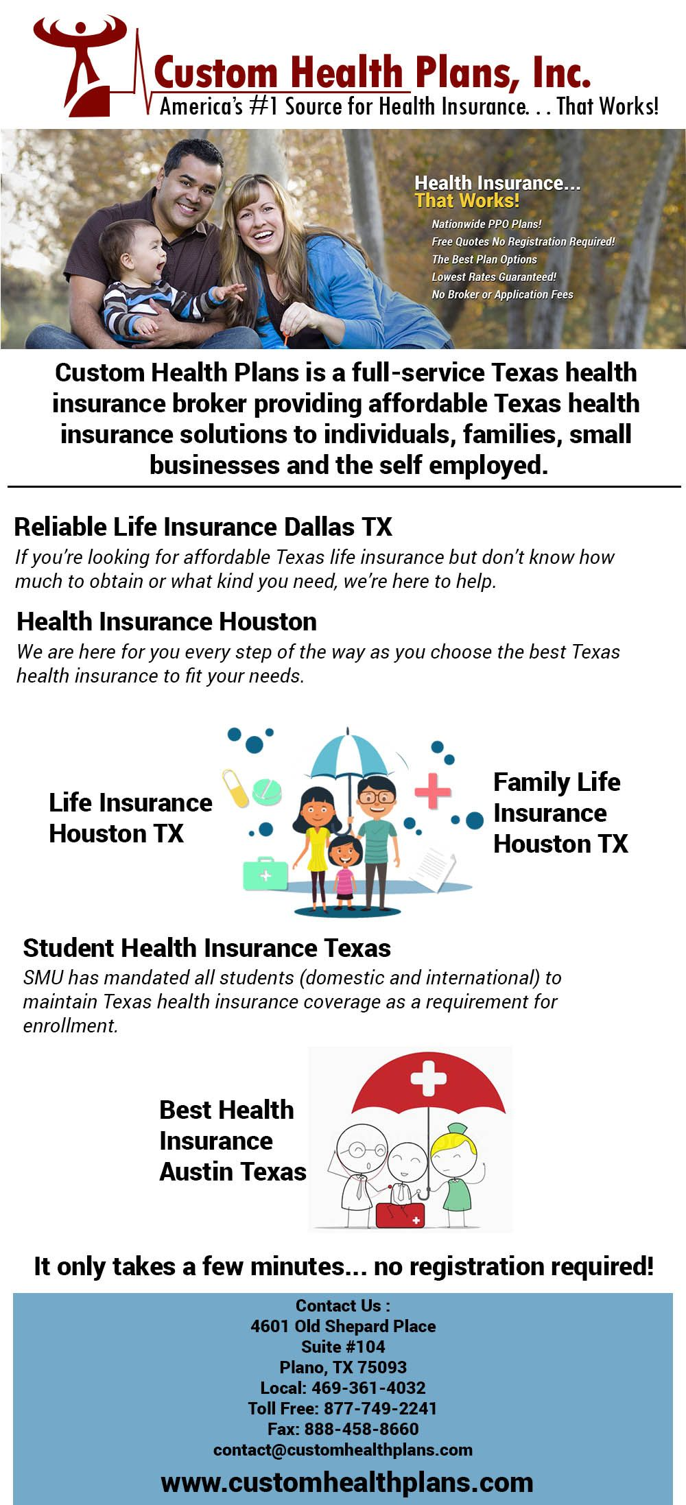 Best Health Insurance Companies in Houston, TX Instead
