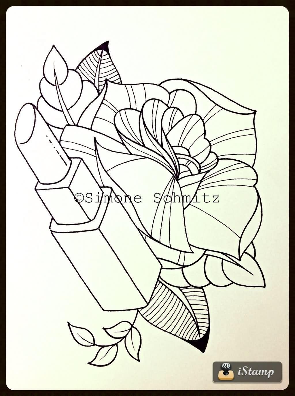 Pin by rachael long on tattoo ideas/drawings | Lipstick tattoos ...